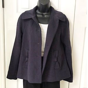 H&M Navy Blazer Coat